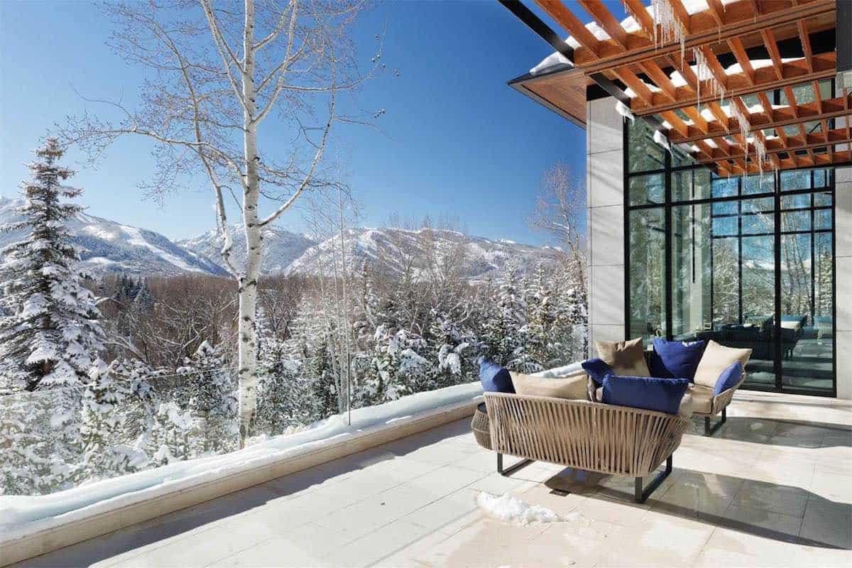 Hermosa casa contemporánea con vistas a la montaña en Aspen, Colorado a la venta por $36.5 million