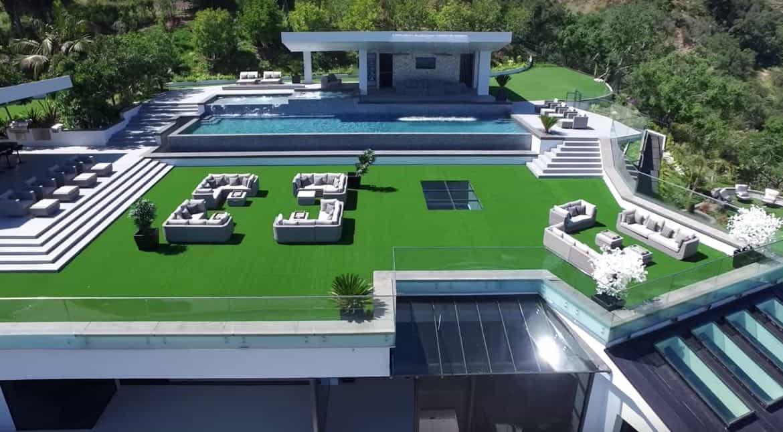 Moderna, Exclusiva y Ultra lujosa: Esta mega mansión en Bel Air, California se vende por $100 millones