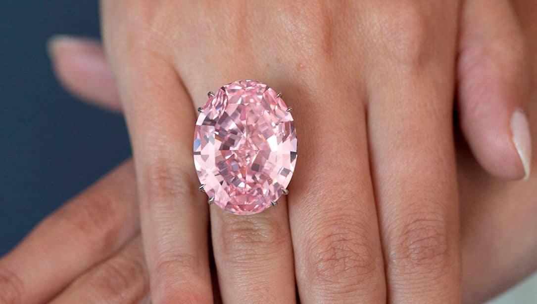 ¡Vendido por $71,2 millones! El deslumbrante diamante PINK STAR rompe todos los records en una subasta