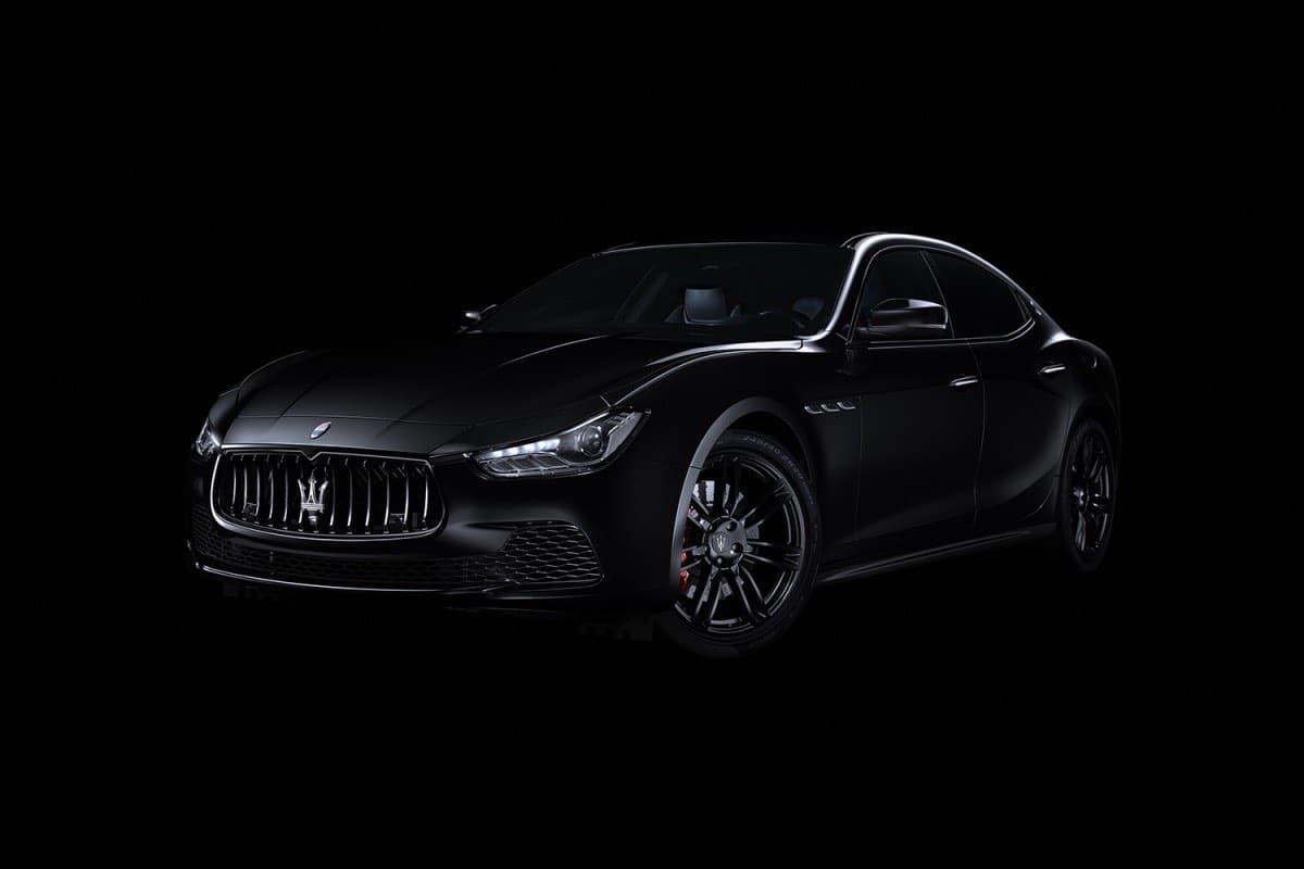 """Maserati Ghibli """"Nerissimo"""" Special Edition"""