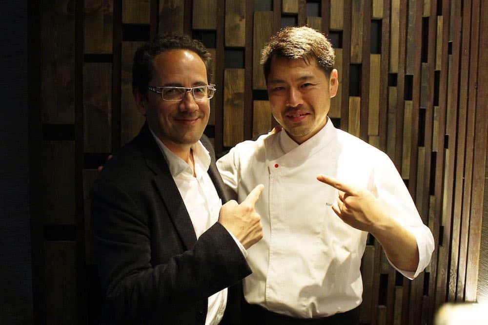François Chartier y Naoyuki Haginoya