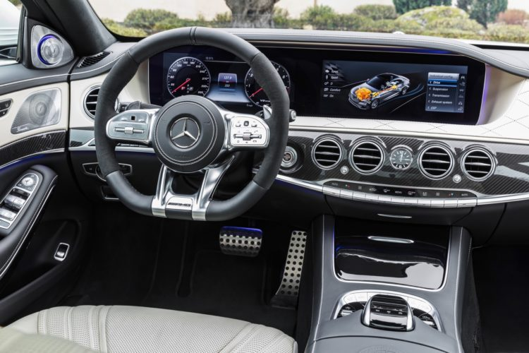 Mercedes S63 AMG 4MATIC+ 2018 - Interior