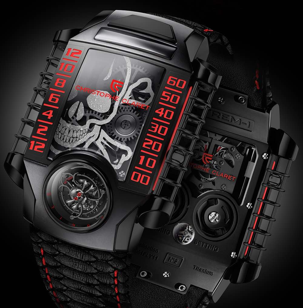 Reloj Christophe Claret X-TREM String HD hace su debut durante Baselworld 2017