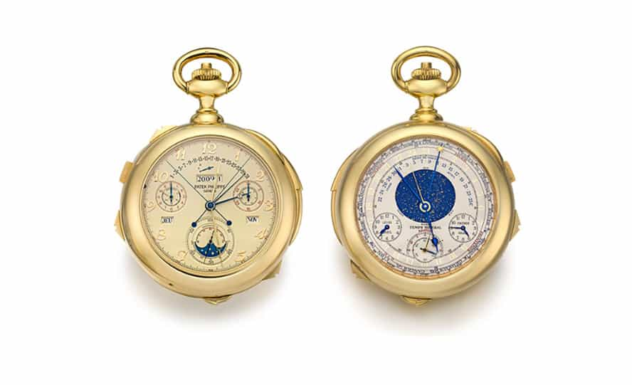 """""""Caliber 89"""", Sotheby's subastará el próximo mes el reloj más complicado de Patek Philippe"""