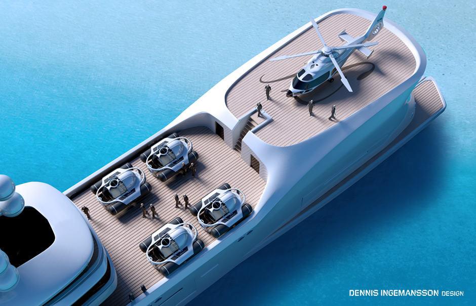 El nuevo juguete acuático de U-Boat Worx perfecto para los mega ricos dueños de súper yates