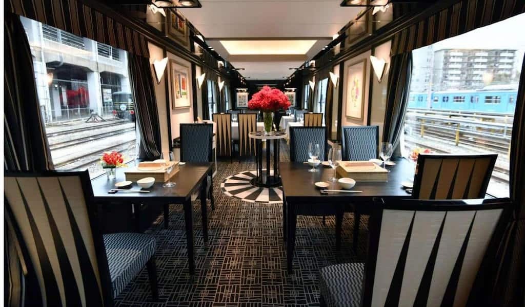 """""""Twilight Express Mizukaze"""", Un lujoso tren en el que podrás recorrer las maravillas de Japón"""