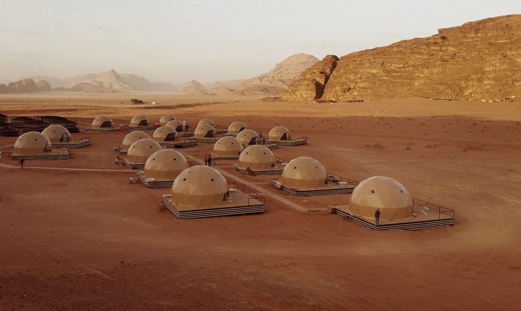 """¡Desert Dome Camp! Fredoomes y SunCity están listos para ofrecerte el destino más parecido a """"Marte"""" que podrás encontrar en la Tierra"""