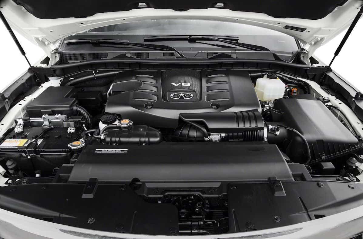 Infiniti QX80 2017, el más poderoso SUV de $61.000 con capacidad para 8 pasajeros
