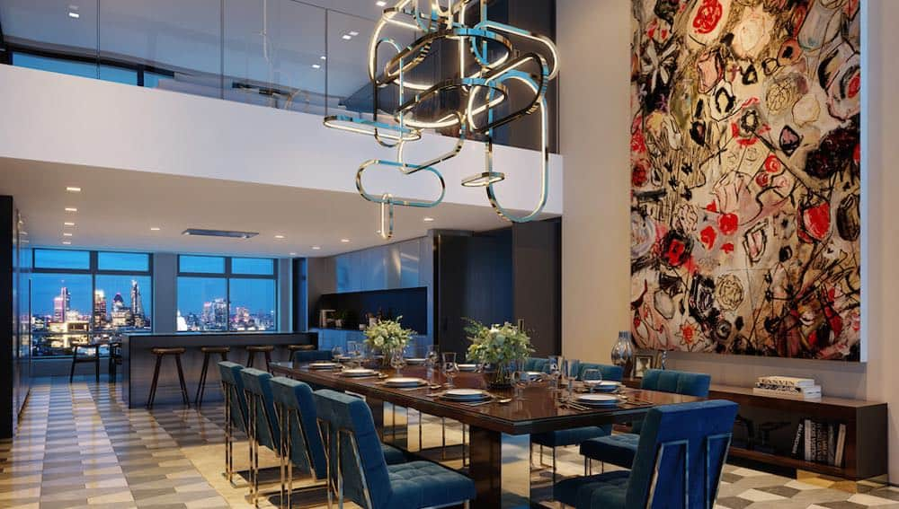 """Ultra exclusivo penthouse en el rascacielos """"Centre Point"""" de Londres se vende por la suma de $70 millones"""