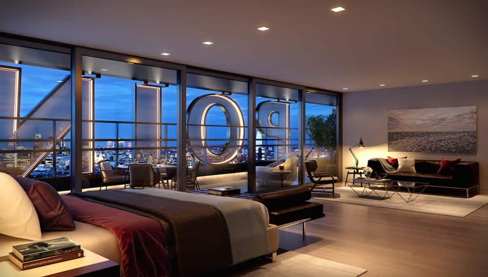 "Ultra exclusivo penthouse en el rascacielos ""Centre Point"" de Londres se vende por la suma de $70 millones"