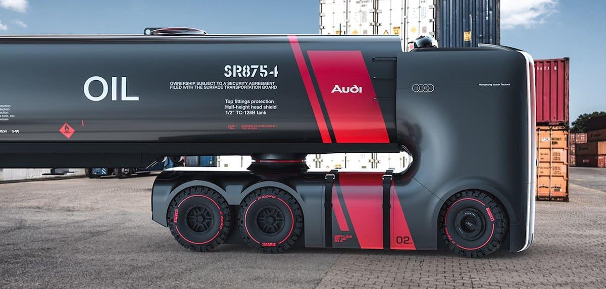 Audi truck project PLAN B