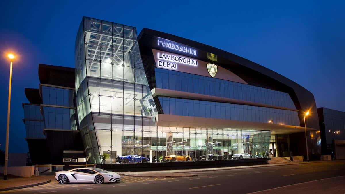 El concesionario Lamborghini más grande del planeta abre en Dubái