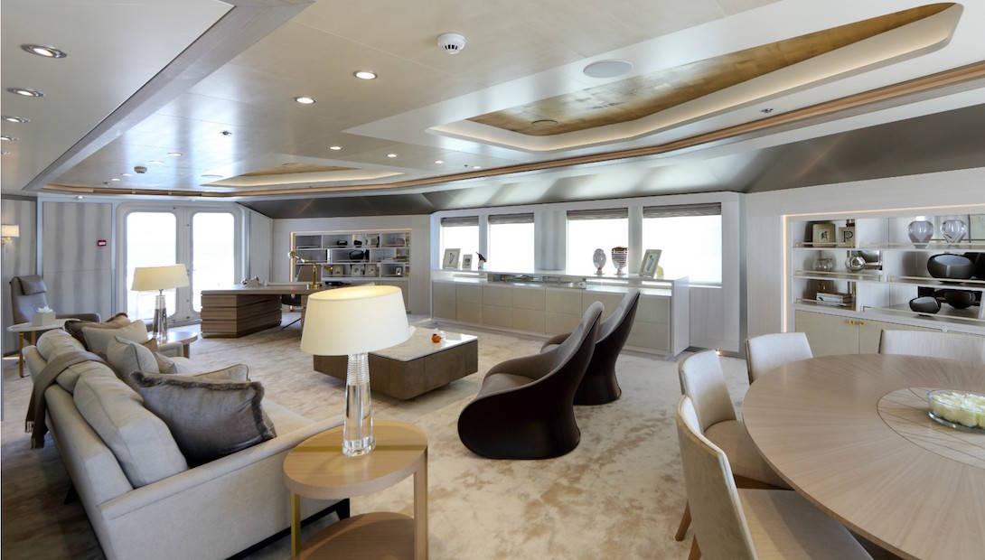 Ulysses: Quedarás sin aliento al pasar un día en este exclusivo superyate de $195 millones