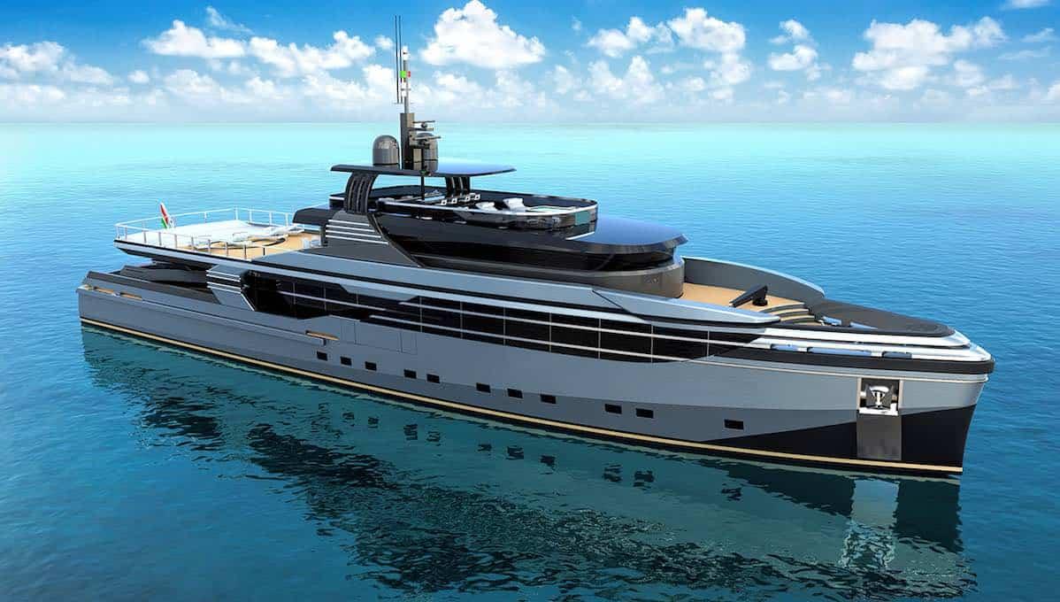 Eurocraft Cantieri Navali presenta nuevo yate de exploración de 46 metros