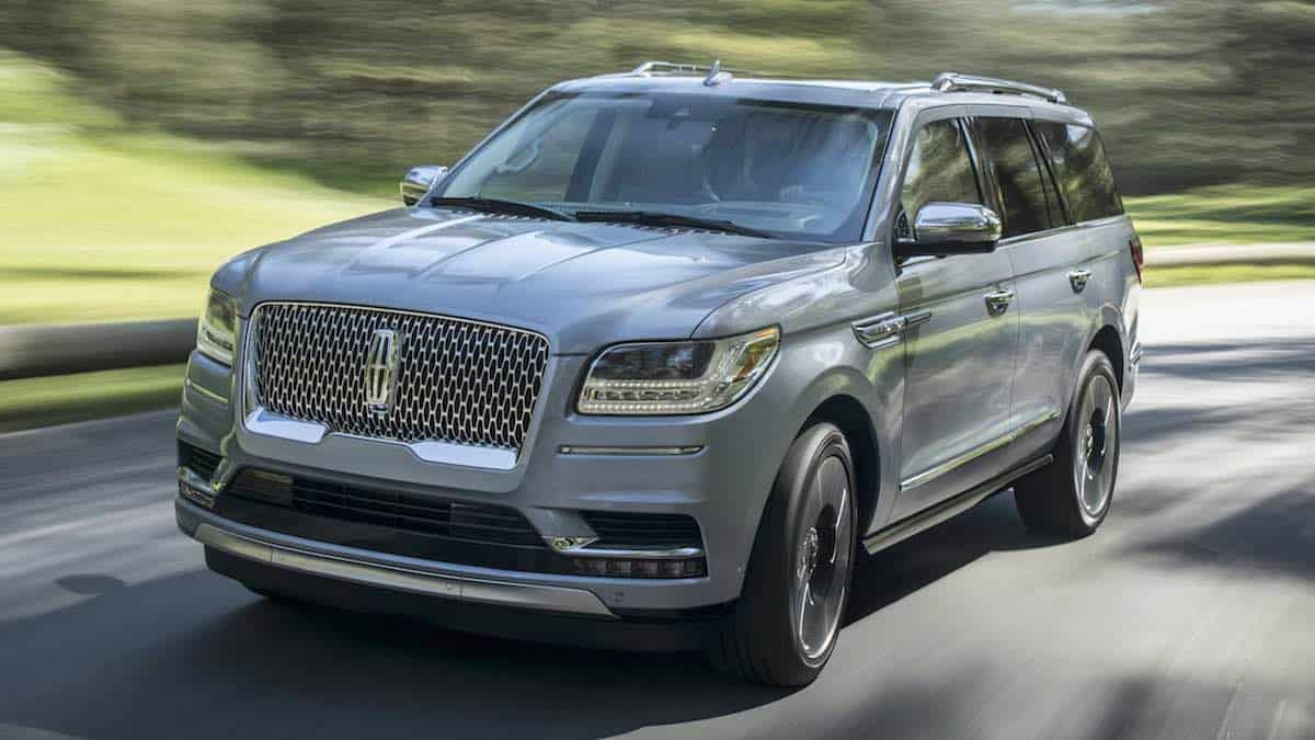 La nueva Lincoln Navigator Black Label 2018