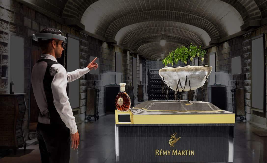 "Casa Rémy Martin orgullosa de anunciar la experiencia Microsoft ""HoloLens"" para consumidores"