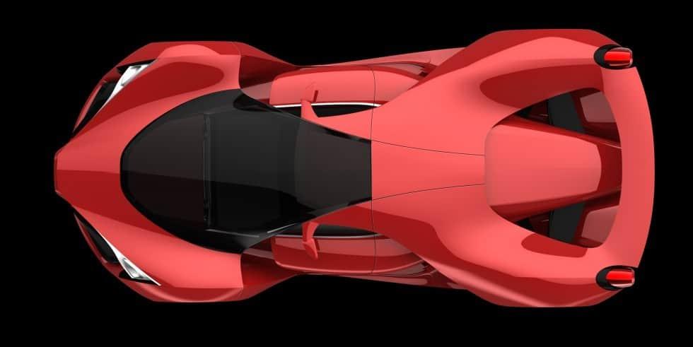 Ferrari F80 Concept, un super coche para un superhéroe