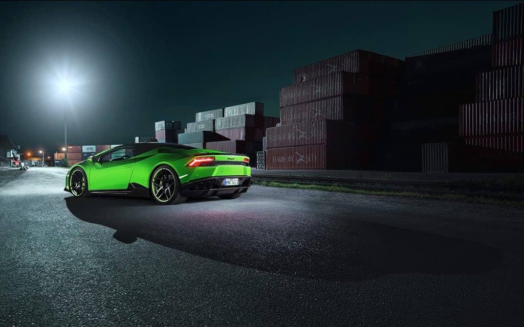 Lamborghini Huracán Spyder con una carrocería ancha por Novitec Torado
