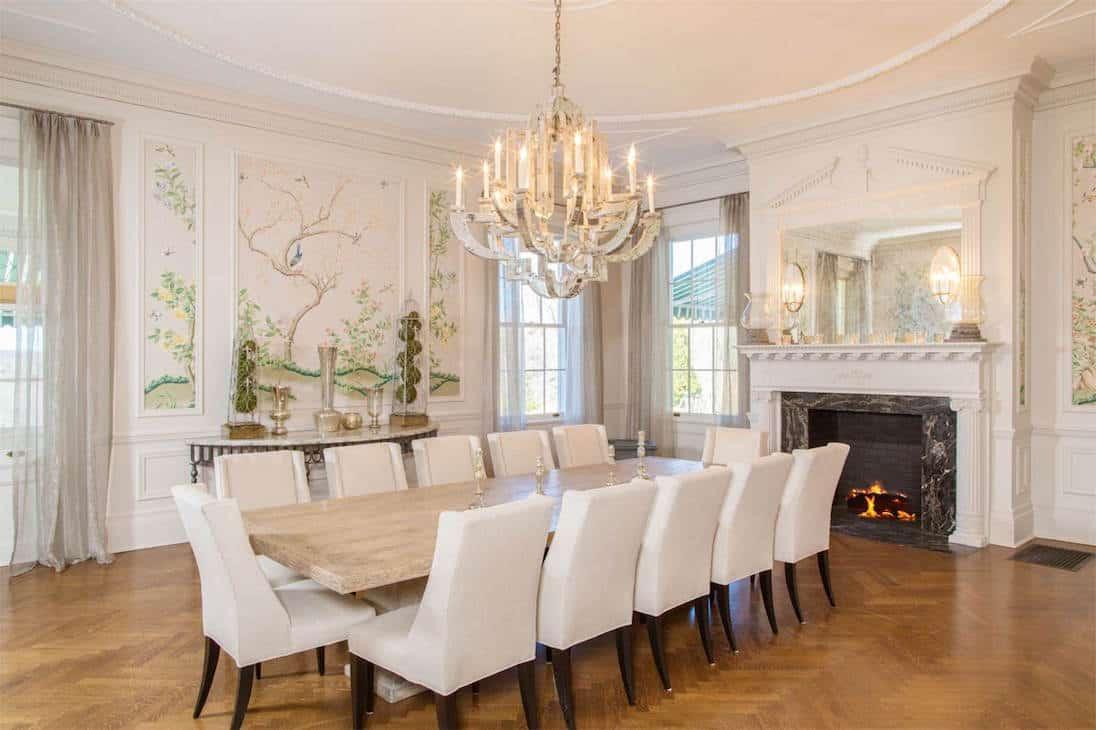 ¡Vendida antes de la subasta! Esta histórica mansión en Connecticut lleva por nombre Sunset Hall