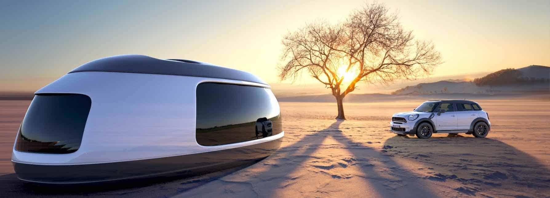 Este asombroso concepto de camping pod es lo que necesitas para hacer realidad tus sueños