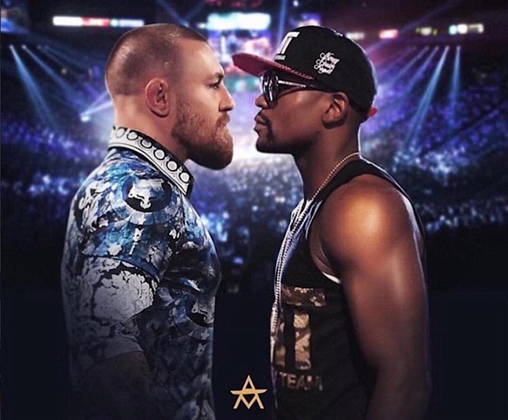 Floyd Mayweather y Conor McGregor se verán las caras en el ring el 26 de agosto en Las Vegas