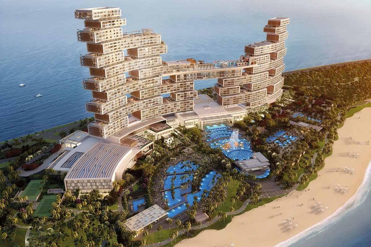 Para los compradores multimillonarios de Dubái las piscinas infinitas pasaron de moda: Es el turno de las Sky Pools