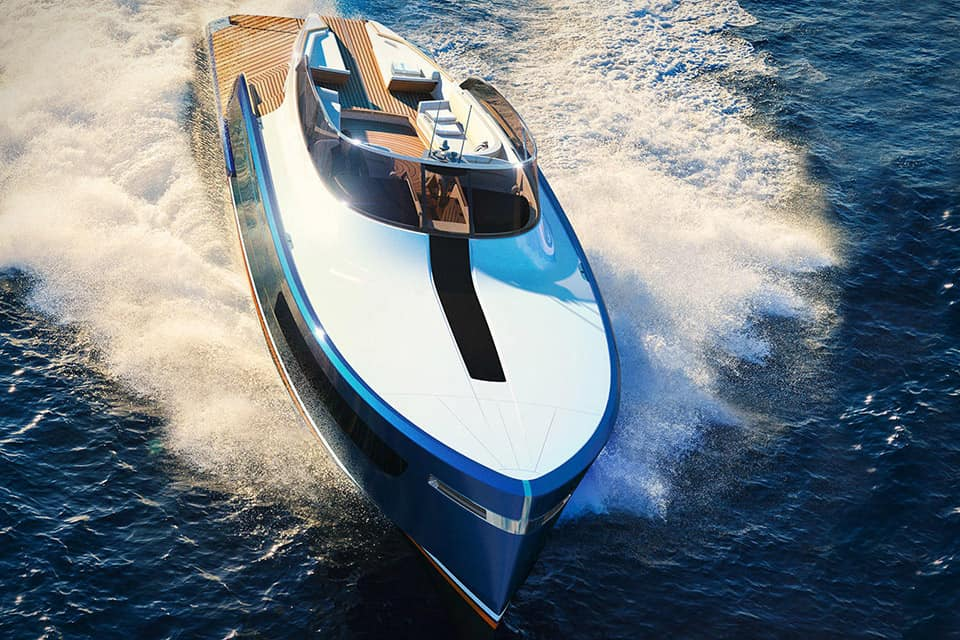 Rolls-Royce colabora en el diseño del mega espectacular superyate Aeroboat S6