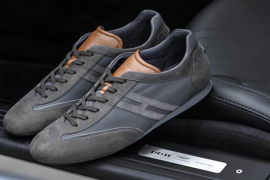 Aston Martin y HOGAN se unen para crear estas ultra exclusivas zapatillas deportivas