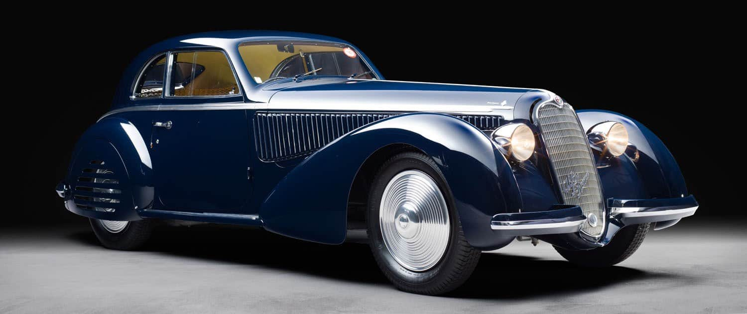 Alfa Romeo 8C 2900B Berlinetta de Touring Superleggera 1938