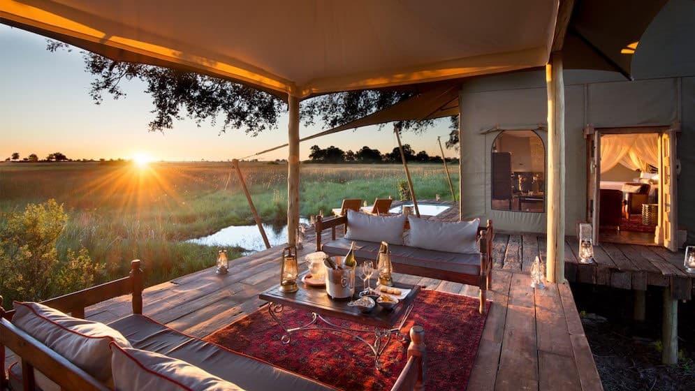 Okavango Delta, Botswana: Campamento de Duba Plains