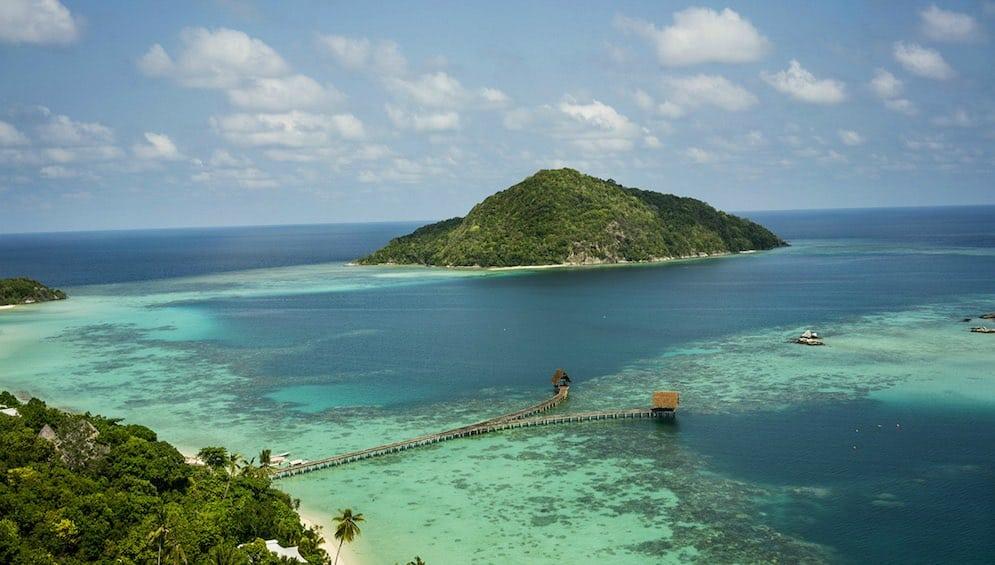 Isla privada de Bawah: Archipiélago de Anambas, Indonesia