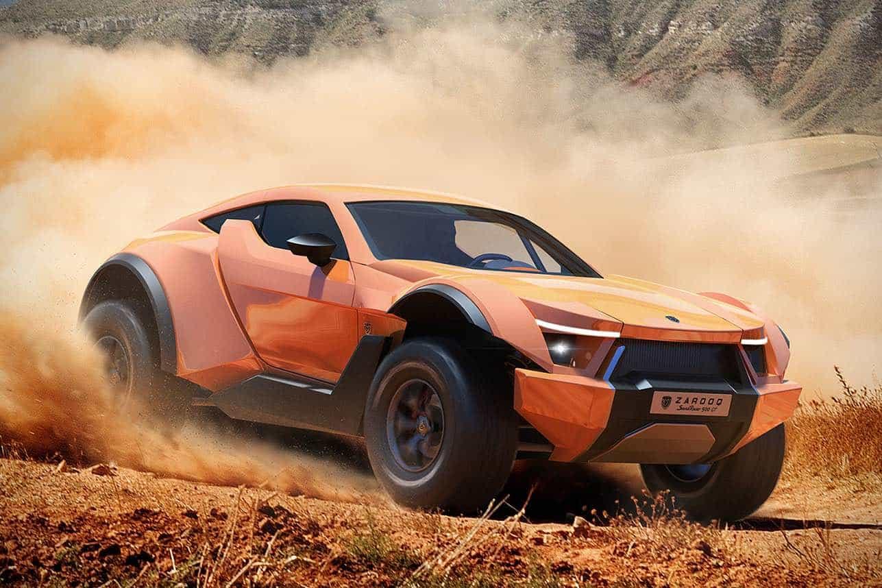 Sandracer 500GT de Zarooq Motors: Este bestial todoterreno es el sueño de cada millonario