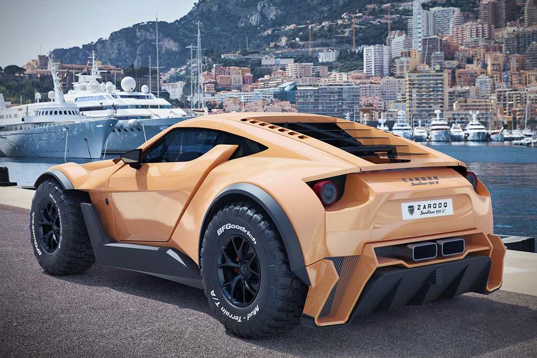Sandracer 500GT de ZAROOQ MOTORS -- Este bestial todoterreno es el sueño de cada millonario