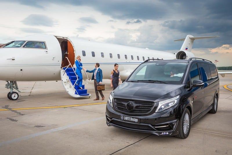 Este exclusivo y lujoso avión sobre ruedas de LARTE Design representa el futuro de los viajes de negocio