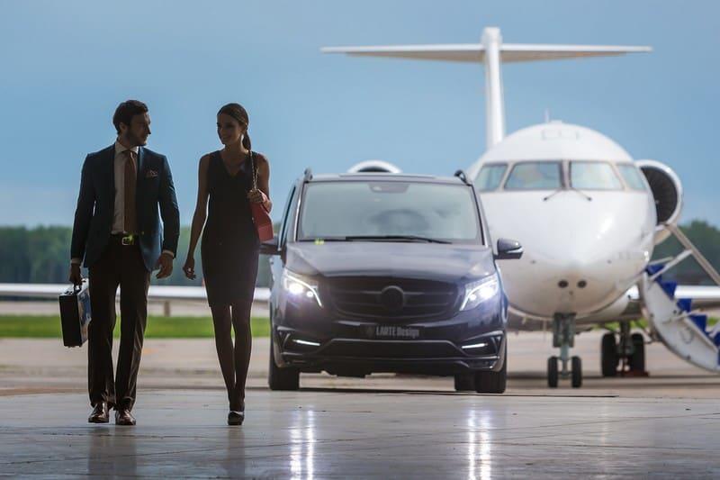 Este exclusivo y lujoso avión sobre ruedas representa el futuro de los viajes de negocio