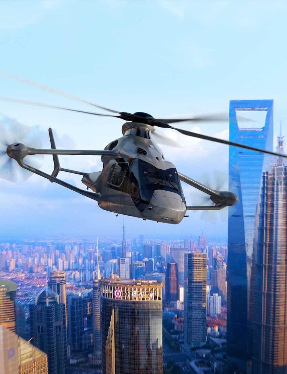 Airbus presenta RACER, el helicóptero del futuro