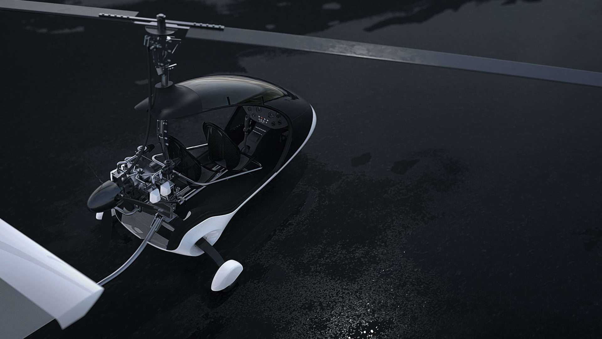 Twistair, una futurista motocicleta voladora