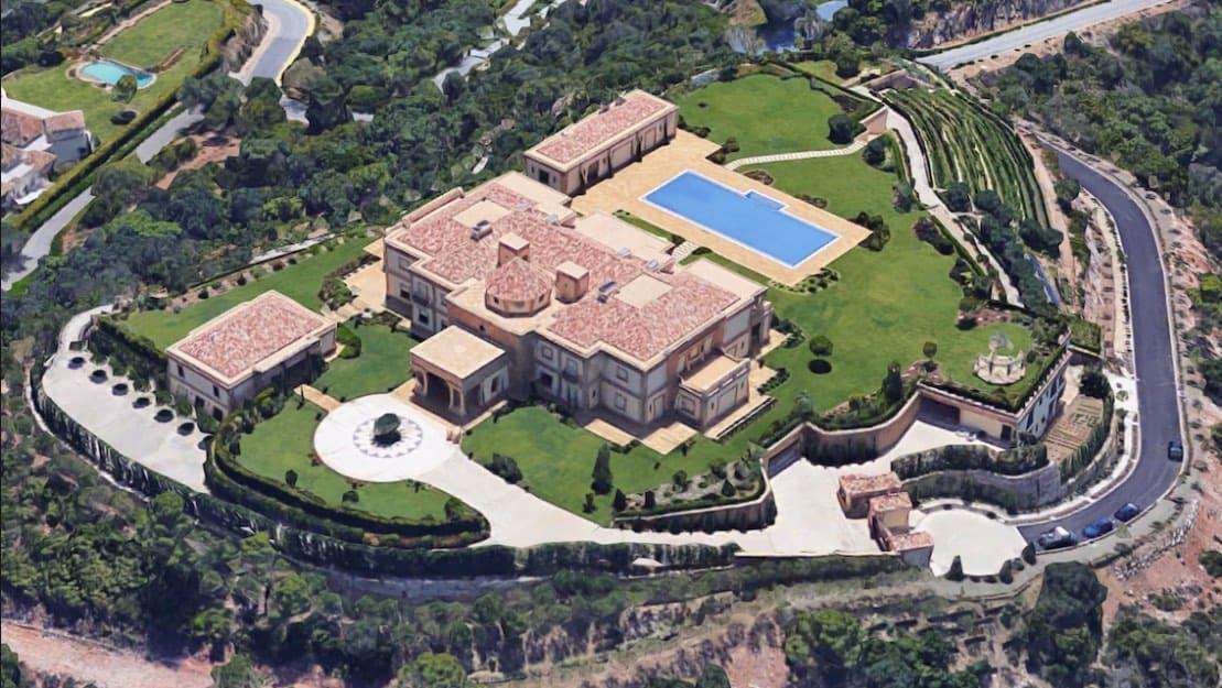 ¡Renovación terminada! La ultra opulenta villa de Vladimir Putin en la Costa del Sol, España
