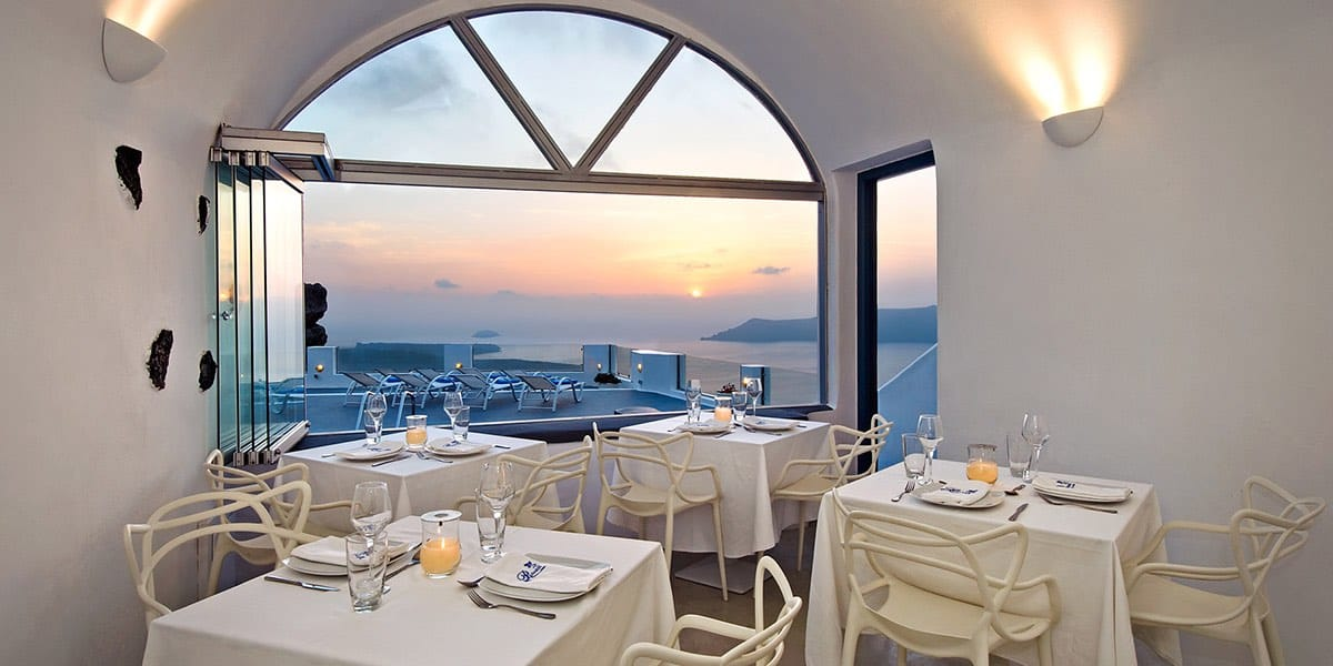 Pegasus Suites & Spa, ultra exclusivo hotel en Santorini