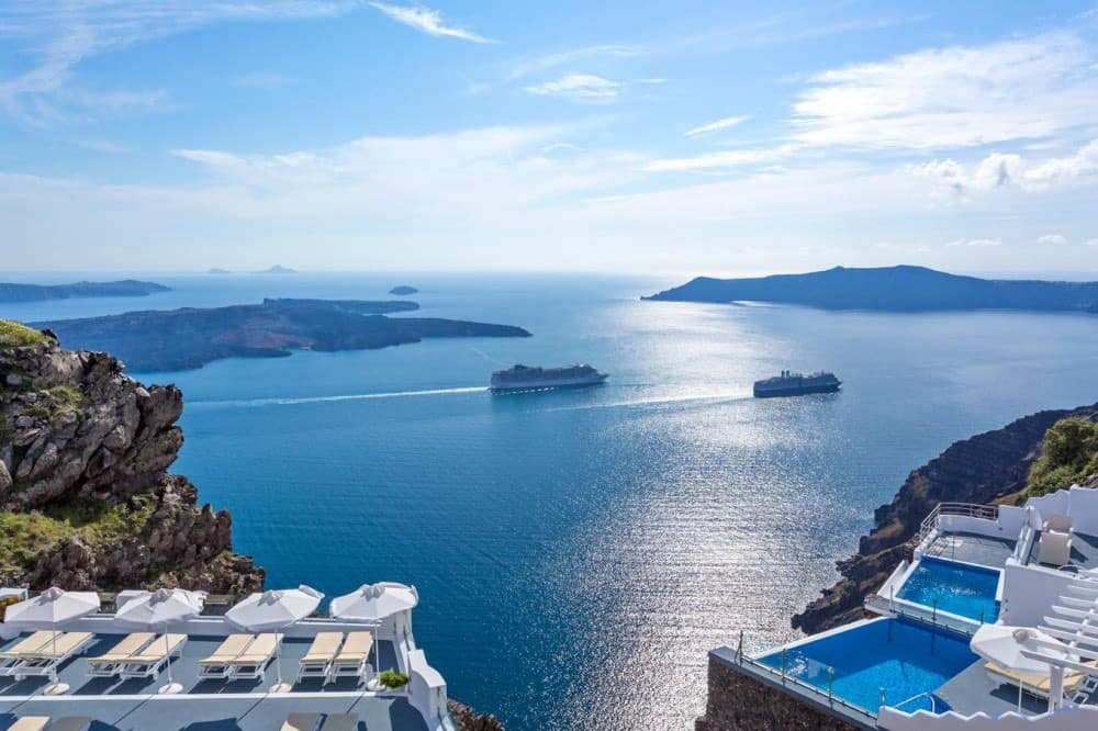 Pegasus Suites & Spa, ultra exclusivo hotel en Santorini