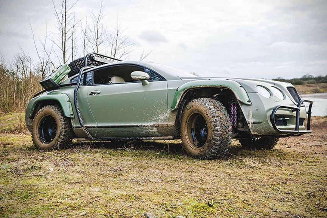 GT-RALLY EDITION: La versión más salvaje del Bentley Continental se acaba de subastar en eBay