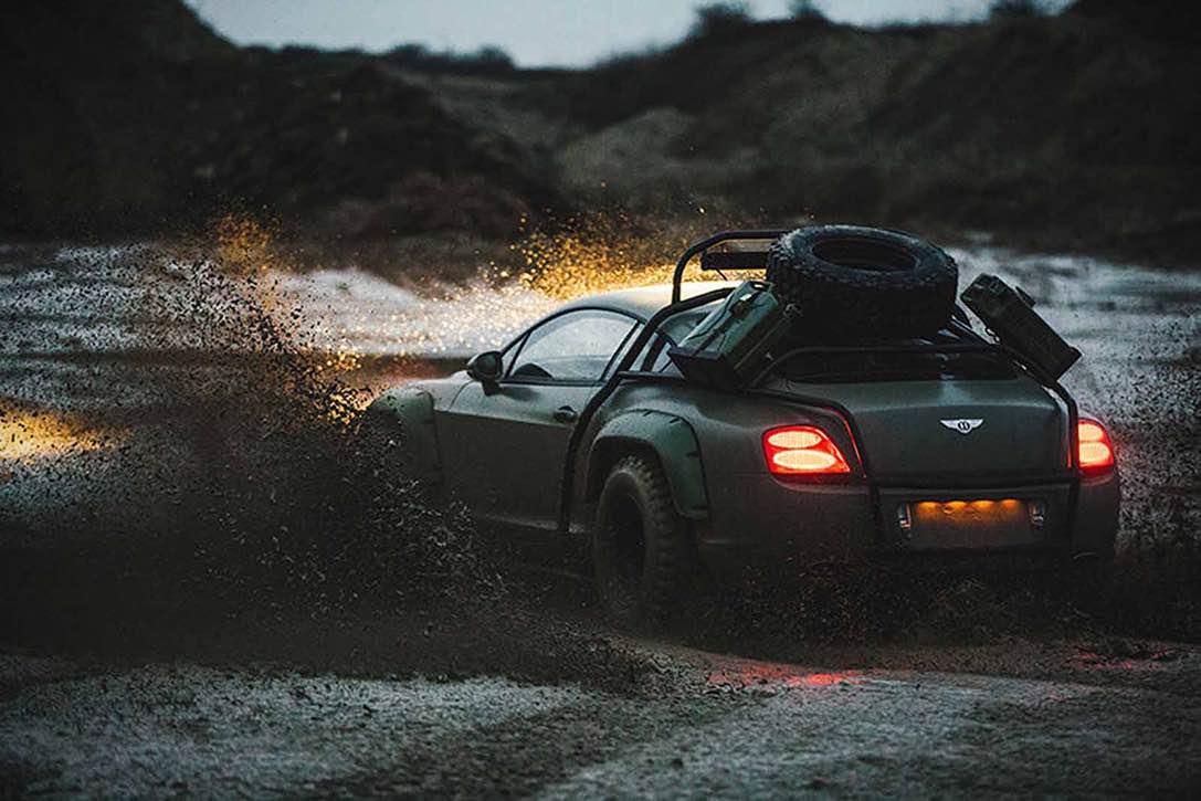 La versión más salvaje del Bentley Continental se acaba de subastar en eBay