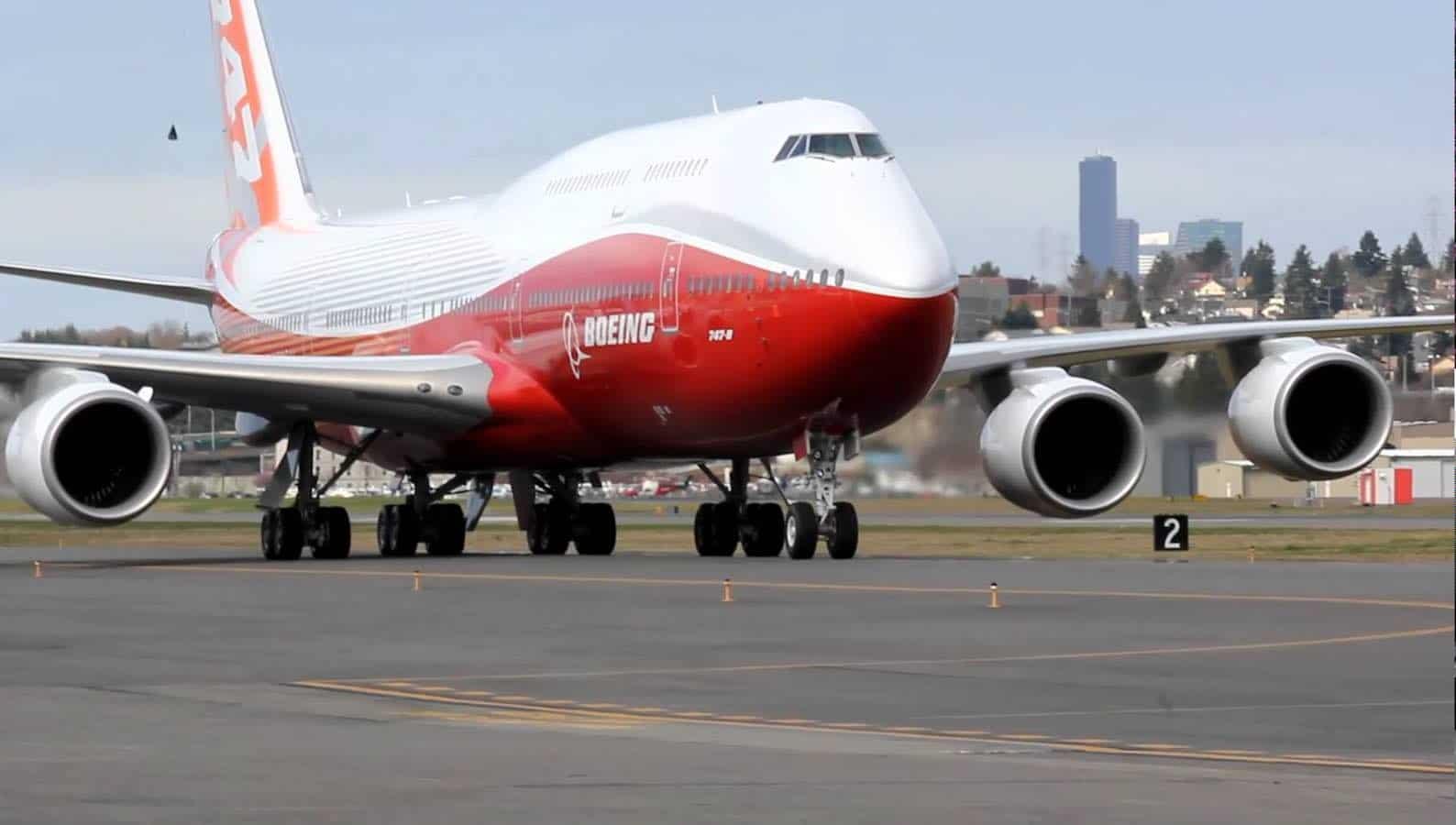 Boeing JUMBO 747-8