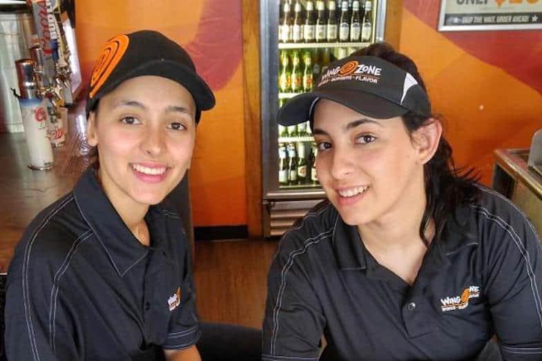 Jessica y Andrea Perez
