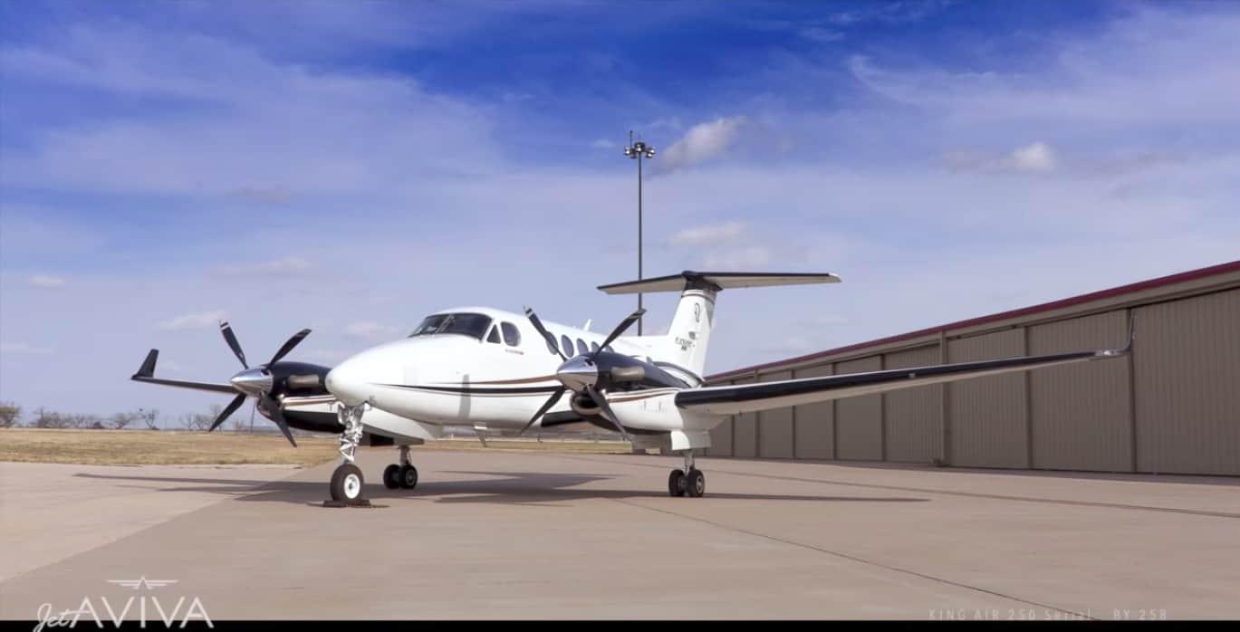 """Este lujoso """"King Air 250"""" del 2016 está a la venta exclusivamente con jetAVIVA"""