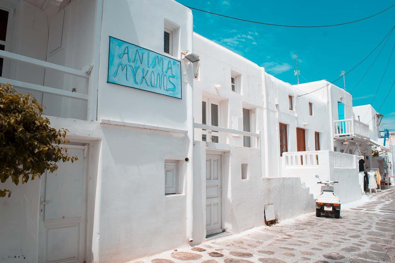 Miconos, Grecia