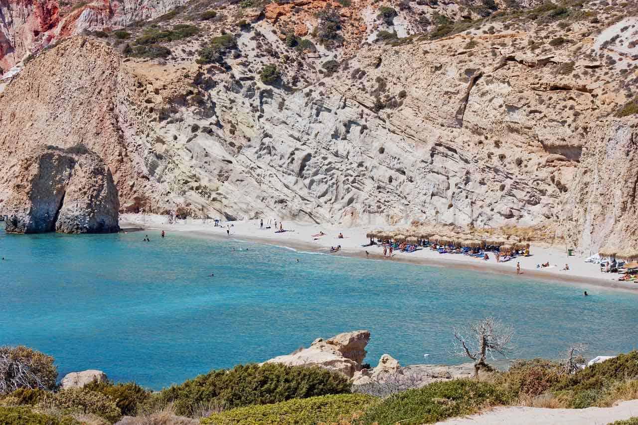 Isla griega Milo, Grecia