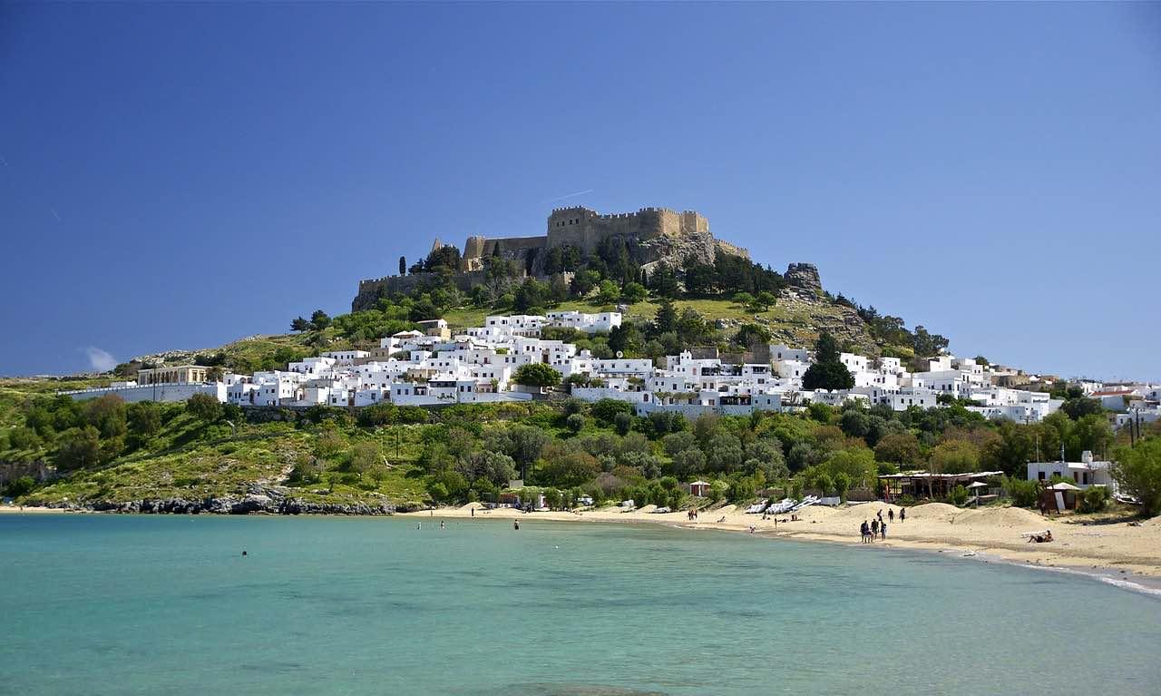 Isla griega de Rodas, Grecia.