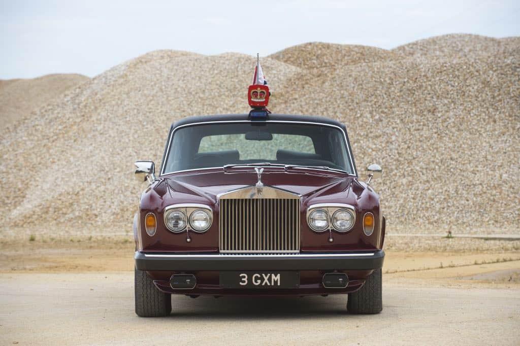 Rolls-Royce Silver Wraith II de la princesa Margarita. Bonhams