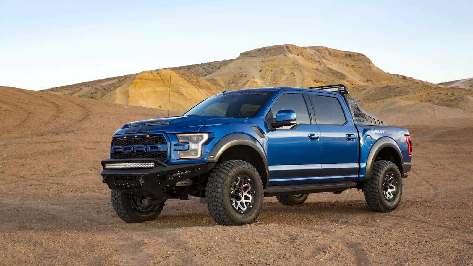 Domine las peores carreteras con la pick-up de 525 HP: Shelby Baja Raptor 2018
